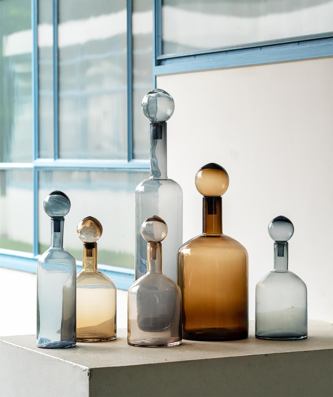 JOSH V Home - Bubbles & bottles set pols potten multicolor