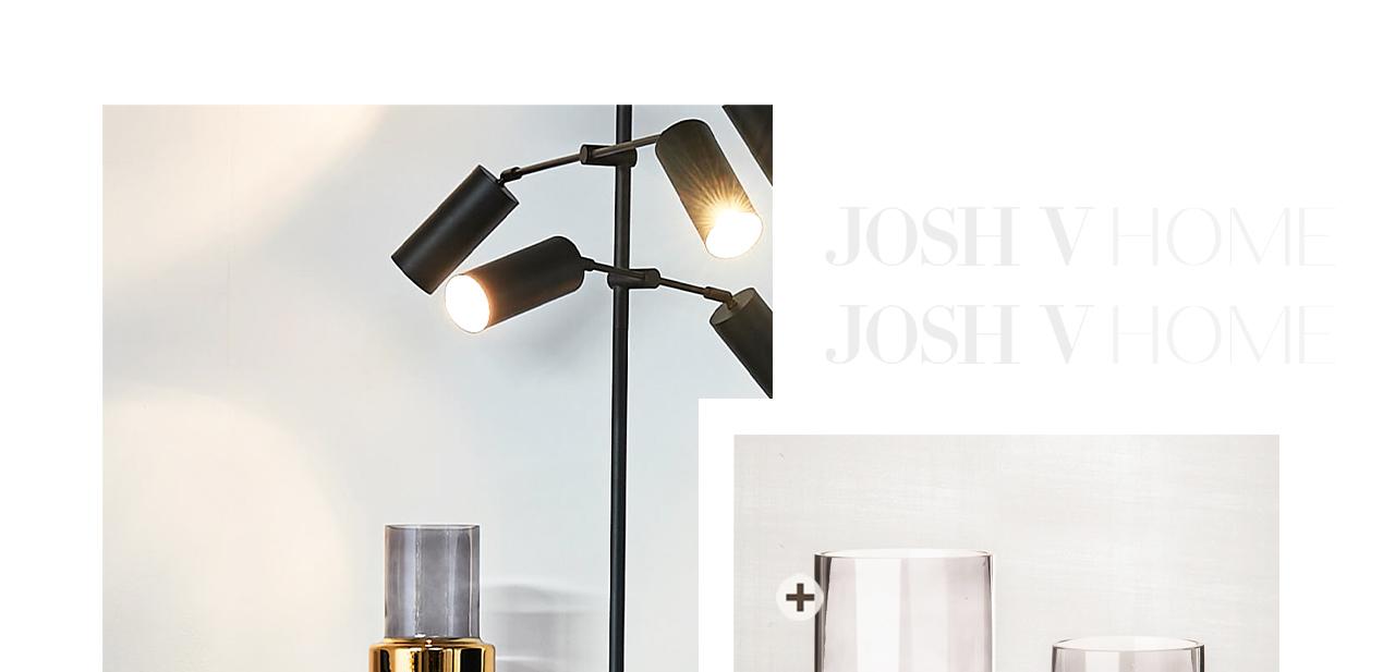 JOSH V Home - Lobby vase m pols potten gold