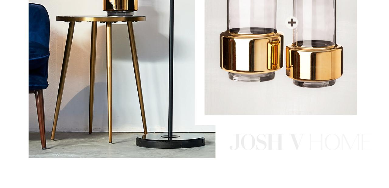 JOSH V Home - Lobby vase s pols potten gold