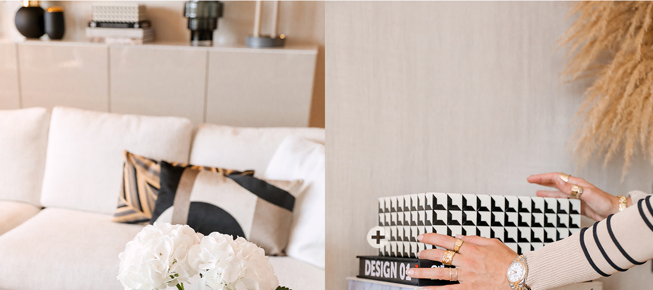 JOSH V Home - Cabas box s eichholtz black white
