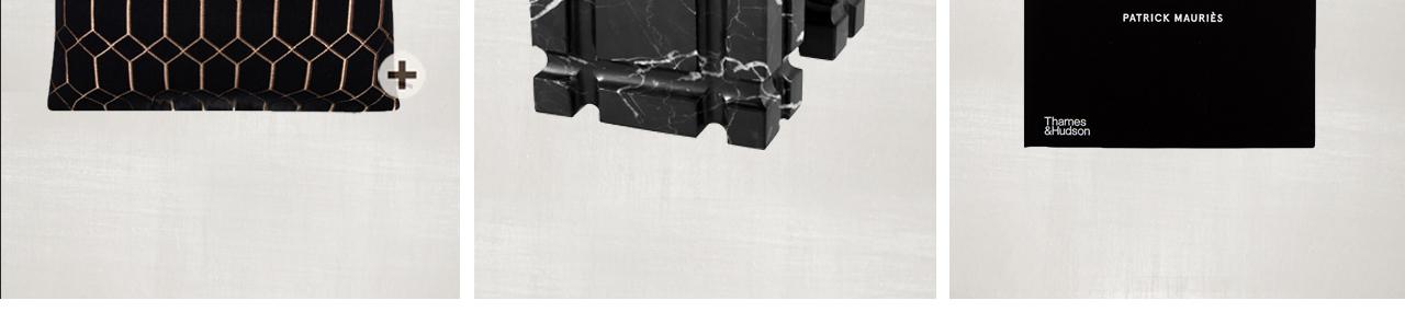 JOSH V Home - Petter decorative cushion claudi 50 x 50 cm black gold