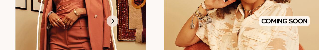 JOSH V Summer '21 - Renewed energy - Madeleine blazer Red Clay