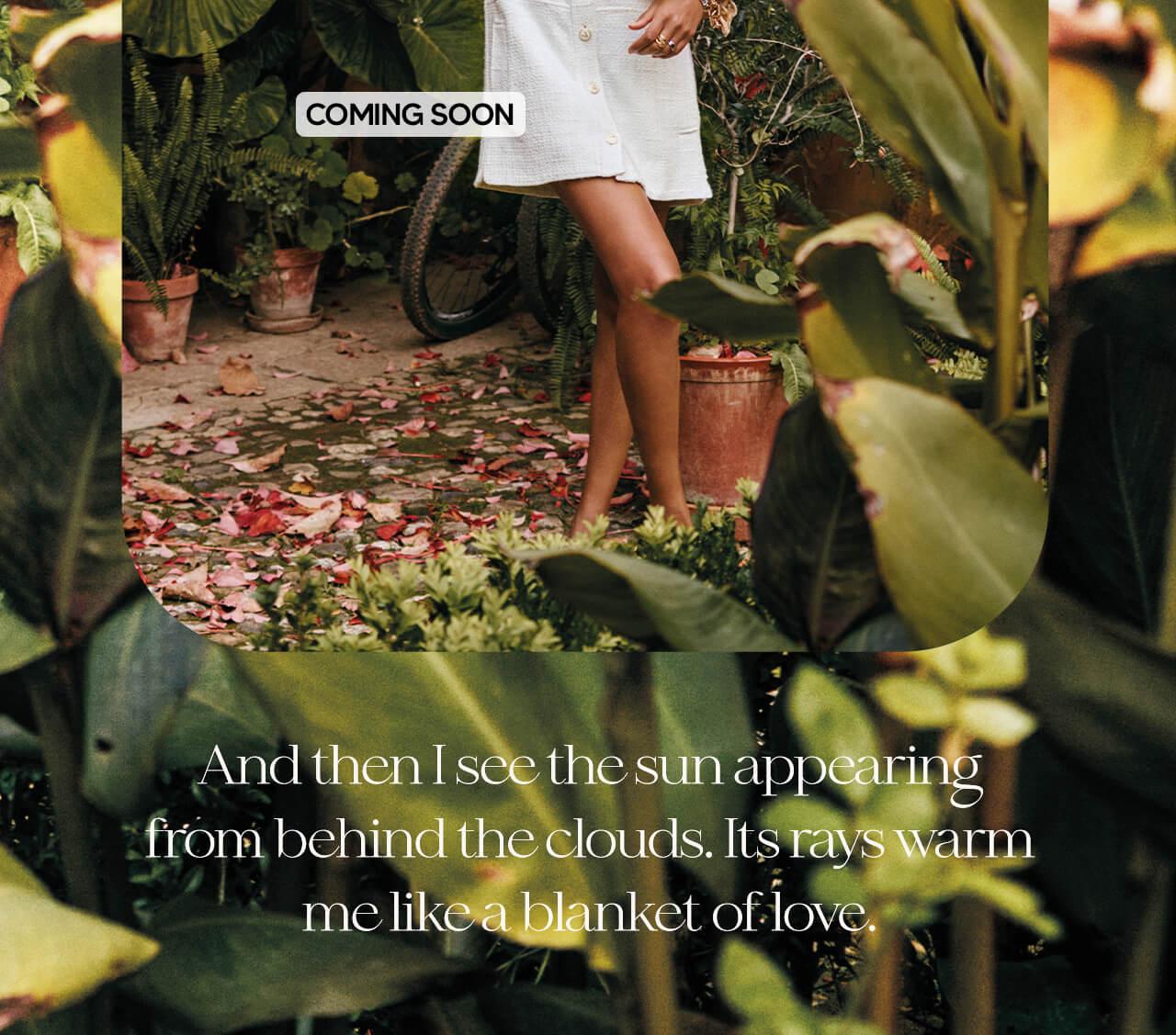 JOSH V Summer '21 - Renewed energy - Maryam dress Whisper White