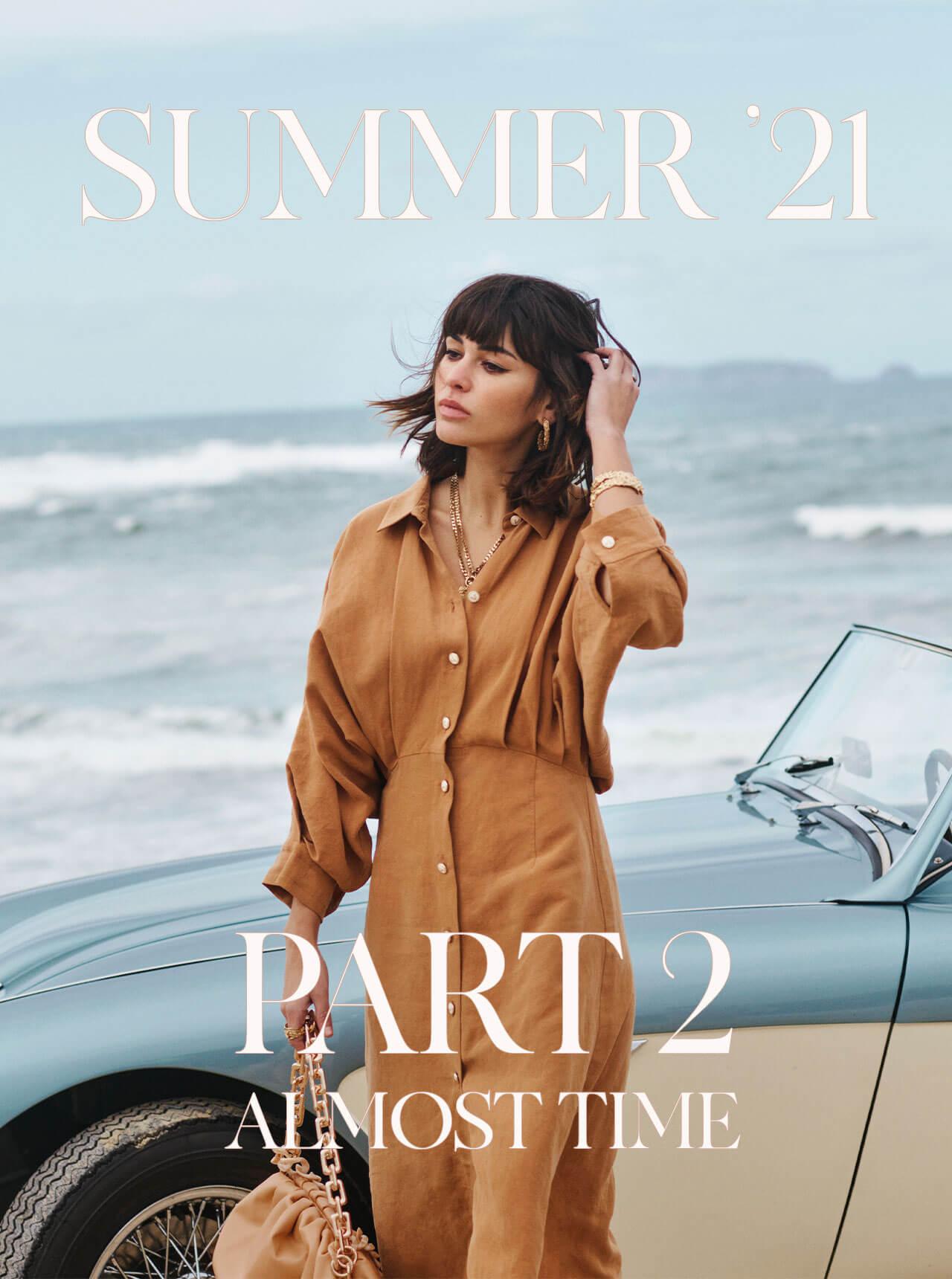 JOSH V Summer '21 - Almost time - Lor dress amber