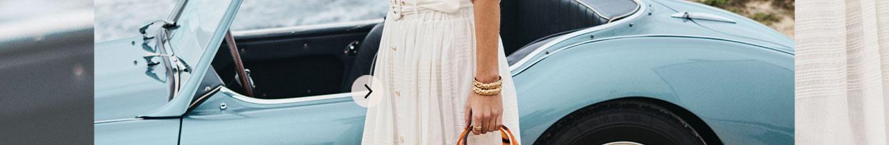 JOSH V Summer '21 - Almost time - Verona skirt whisper white