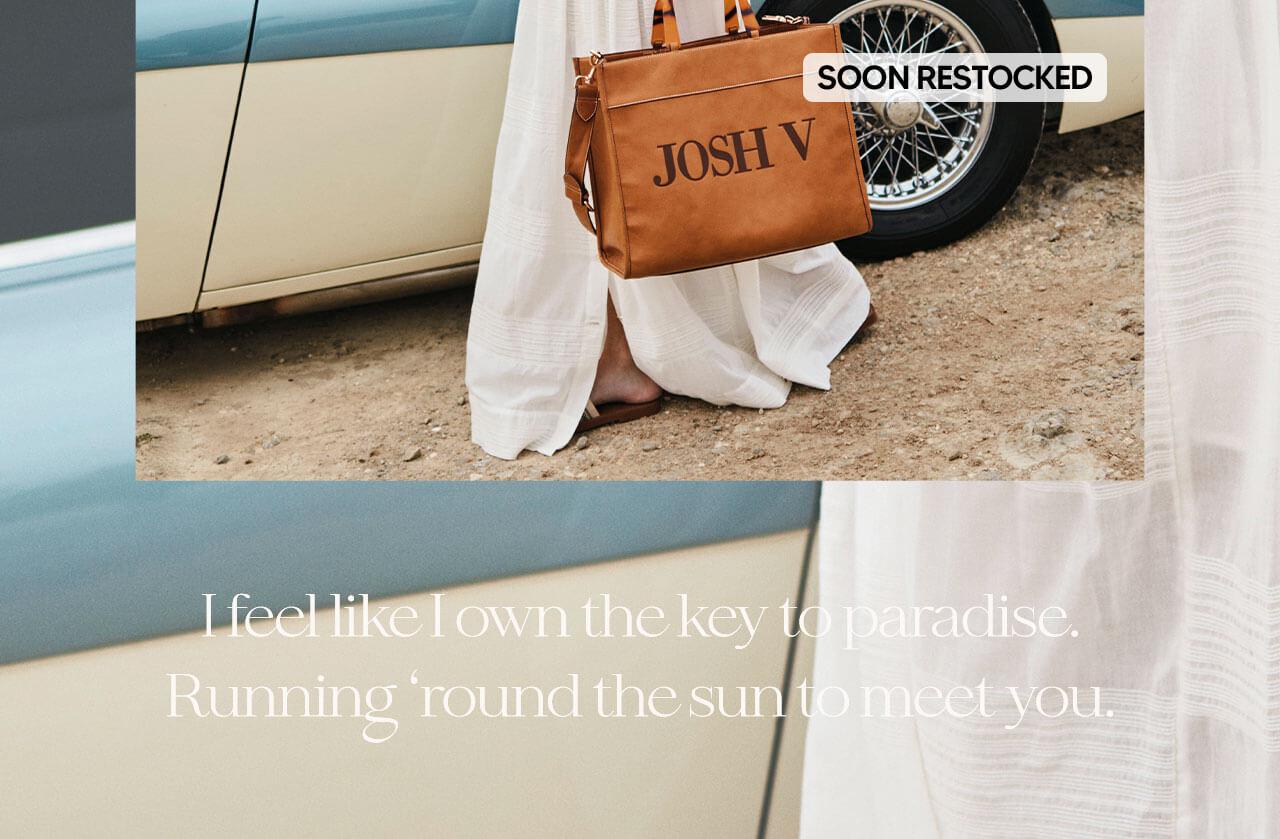 JOSH V Summer '21 - Almost time - Alexa bag bronze