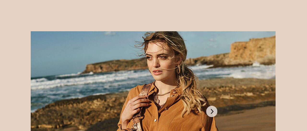 JOSH V Summer '21 - Almost time - Ainoa blouse amber