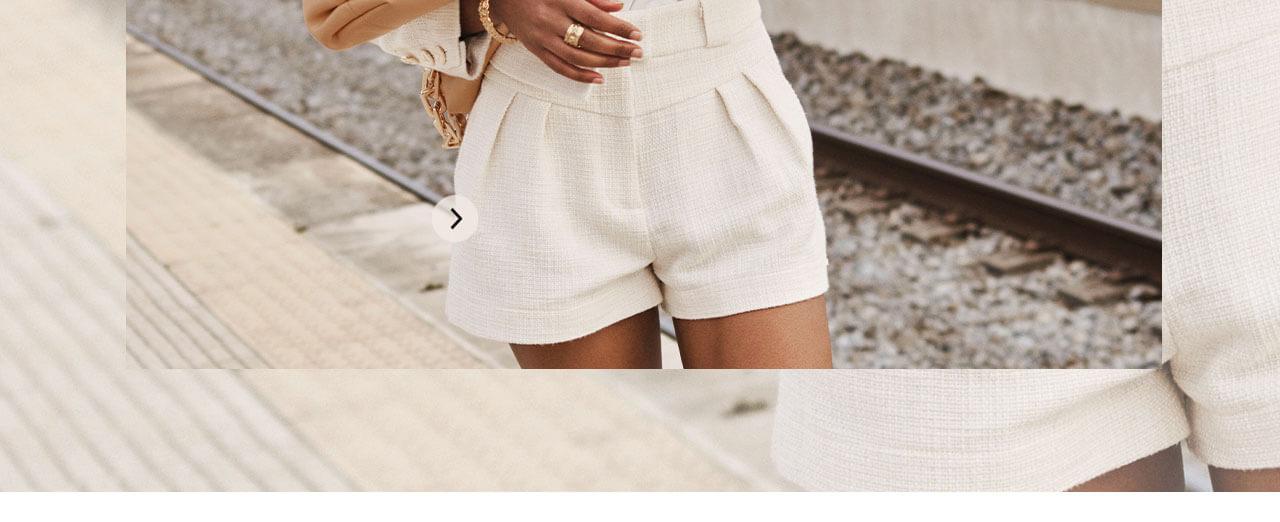 JOSH V Summer '21 - Almost time - Lize shorts whisper white