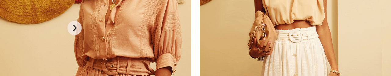 JOSH V Summer '21 - Almost time - Juliana blouse summer skin